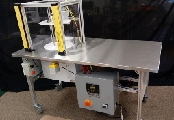 medical tubing coiling machinery