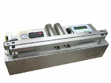 Medical validatable vacuum heat sealer for medical devices