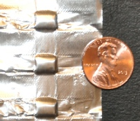 small foil pouches for microfluidic applications
